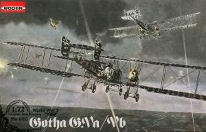 Roden 020 Samolot Gotha G.Va / Vb model 1-72