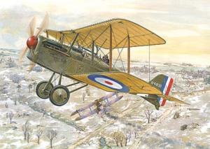 Roden 023 Samolot RAF SE.5a model 1-72