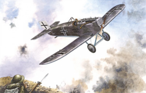 Roden 041 Samolot Junkers D.I model 1-72