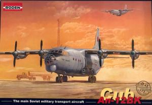 Roden 042 Samolot Antonov AN-12 BK model 1-72