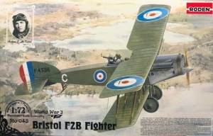 Roden 043 Samolot Bristol F2B model 1-72