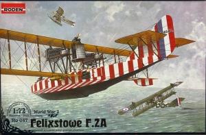 Roden 047 Hydroplan Felixstowe F.21 model 1-72