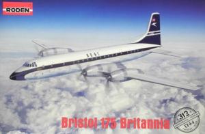 Roden 312 Samolot pasażerski Bristol 175 Britannia model 1-144