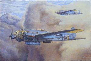 Roden 344 Samolot Heinkel He 111H-16 model 1-144