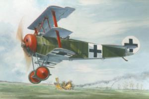 Roden 601 Samolot Fokker Dr.I model 1-32