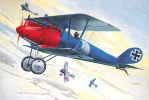 Roden 613 Samolot Pfalz D.III WWI model 1-32