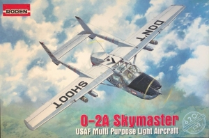 Roden 620 Samolot O-2A Skymaster model 1-32