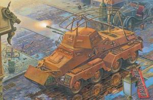 Roden 704 Pojazd pancerny Sd.Kfz.232 FU 8-Rad model 1-72