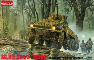 Roden 705 Samochód pancerny Sd.Kfz.234/2 Puma