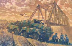 Roden 706 Samochód pancerny Sd.Kfz.233 Stummel model 1-72