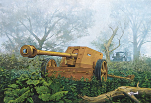 Roden 711 Armata PaK-40 model 1-72