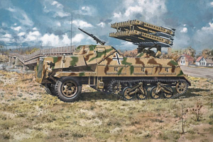 Roden 714 Samobieżna wyrzutnia Sd.Kfz.4/1 Panzerwerfer 42