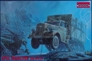 Roden 715 Ciężarówka Opel Maultier Sd.Kfz.3 model 1-72