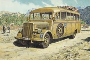 Roden 721 Opel Blitz Omnibus model w.39 Ludewig-built