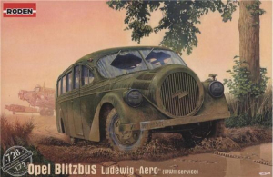 Roden 728 Opel Blitzbus Ludewig Aero model 1-72
