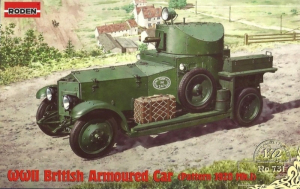 Roden 731 WWII British Armoured Car Pattern 1920 Mk.I model 1-72