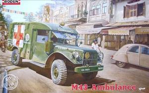 Roden 811 M43 wojskowy ambulans model 1-35