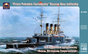 Rosyjski pancernik Prince Potemkin-Tavricheskiy Ark Models AK40003