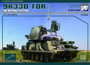 Russian TOR-M1 Missile System Panda Hobby 35008
