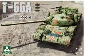 Russian medium tank T-55A Takom 2056