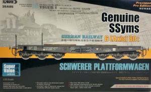 Sabre 35A05-SVP Niemiecki wagon platforma model 1-35