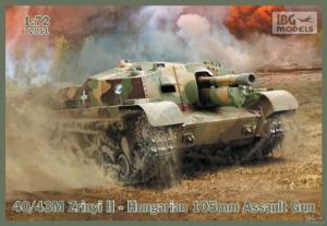 Samobieżna haubica 105mm 40/43M Zrinyi II IBG 72051