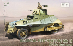 Samochód pancerny Marmon-Herrington Mk.II model 35022