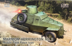 Samochód pancerny Marmon-Herrington Mk.II model 35023