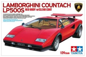 Samochód Lamborghini Countach LP500s Tamiya 25419