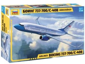 Samolot pasażerski Boeing 737-700 Zvezda 7027