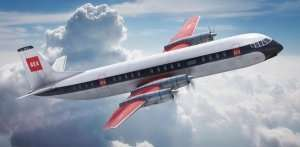 Samolot pasażerski Vickers Vanguard Airfix 03171