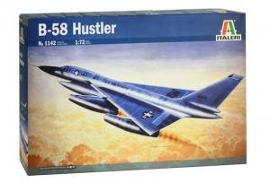 Samolot B-58 Hustler skala 1-72 Italeri 1142