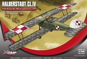 Samolot Halberstadt CL.IV Wojna Polsko-Sowiecka 481403