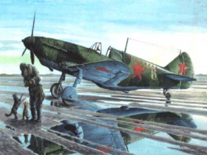 Samolot ŁaGG 3 seria 35 Roden 038