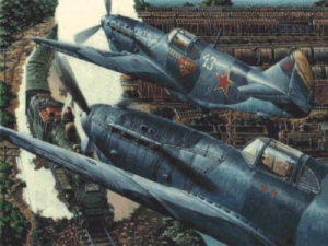 Samolot ŁaGG 3 seria 66 Roden 039