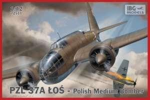 Samolot PZL 37A Łoś - polski średni bombowiec 72511