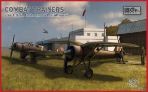 Samolot PZL P.11a i PZL.23A Karaś zestaw IBG 72529