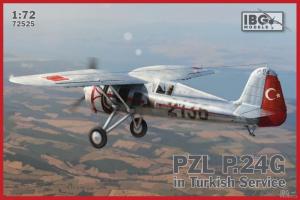 Samolot PZL P.24G w służbie tureckiej IBG 72525