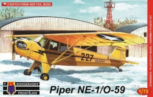Samolot Piper NE-1/O-59 model KPM0044 skala 1-72