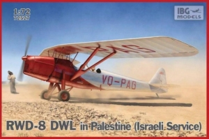 Samolot RWD-2 DWL Palestyna, Izrael model IBG 72527
