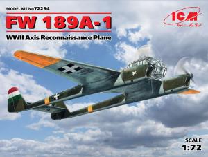 Samolot zwiadowczy Focke-Wulf FW189A-1 ICM 72294