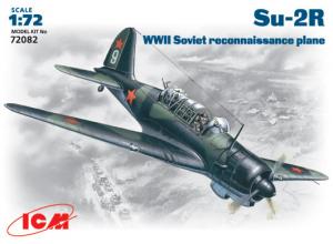 Samolot zwiadowczy Su-2R Model ICM 72082