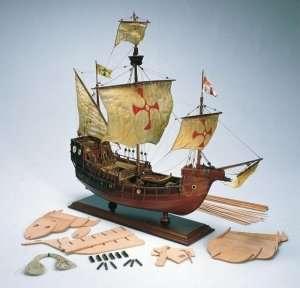 Santa Maria - Amati 1409 - drewniany model w skali 1:65