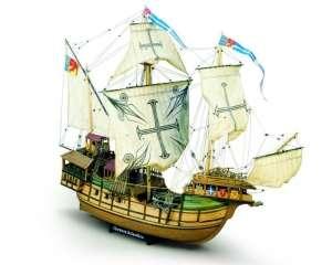 Sao Miguel Caracca Atlantica Mamoli MV21 drewniany model okrętu w skali 1-54