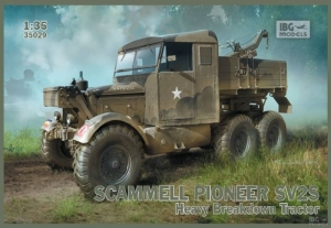 Scammell Pioneer SV2S Heavy Breakdown Tractor IBG 35029