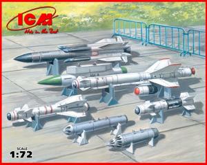 Sowieckie uzbrojenie do samolotów ICM 72213