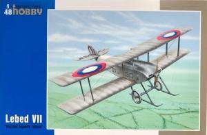 Special Hobby SH48071 Samolot Lebed VII model 1-48