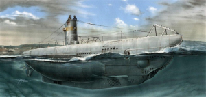 Special Hobby SN72002 U-Boot Typ IIA model 1-72