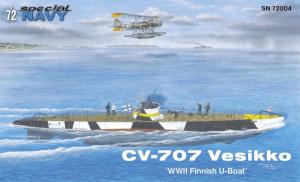Special Hobby SN72004 CV-707 Vesikko U-Boat