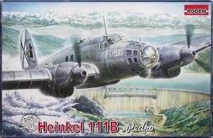 Średni bombowiec Heinkel He 111B Pedro Roden 005
